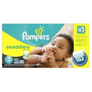 $26.31Pampers Swaddlers 3号婴儿尿布162片