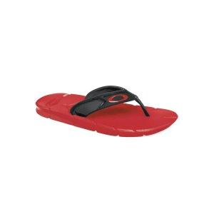 Oakley Factory Lite Sandals in BLACK/RED