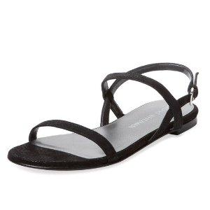 Stuart Weitzman Trailmix Patent Leather Sandal