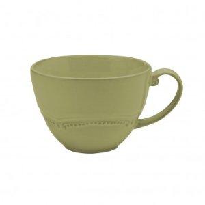 Anchor Hocking Isabella Wintergreen Oversized Mug, Set of 4, 14oz