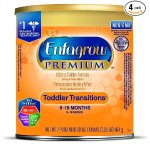 Enfagrow Toddler Transitions Infant and Toddler Formula - 20 oz Powder Can (4 pk)(Packgae may vary)