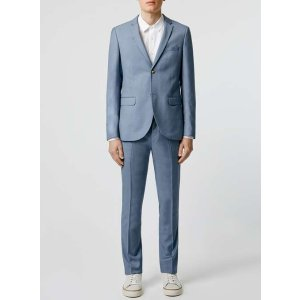 Light Blue Skinny Fit Suit
