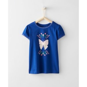 Girls Shimmer Art Tee from Hanna Andersson
