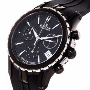 $348 (Orig $2,630)Edox Women's Grand Ocean Chronolady Watch Model: 10410-357N-NIN