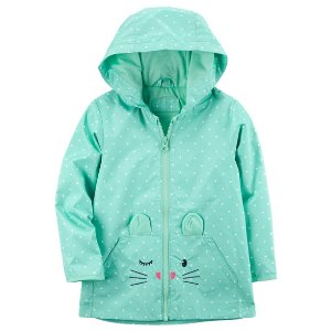 Jersey-Lined Mouse Raincoat