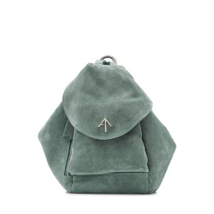 Suede Backpack - Manu Atelier