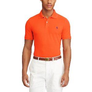 Custom Fit Stretch Mesh Polo