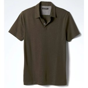 Silk Cotton Polo | Banana Republic