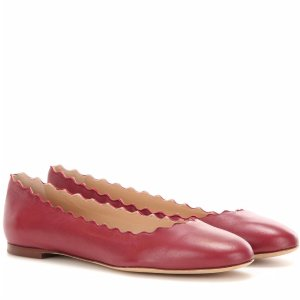 $249Chloe nappa ballet Flats