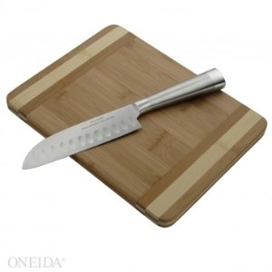 Cutting board w/Santoku