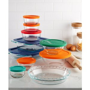 Pyrex 19 Piece Baking & Storage Set, Created for Macy's