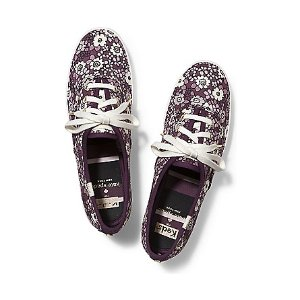 Women - KEDS X kate spade new york CHAMPION. - Wine Ditzy Floral   Keds