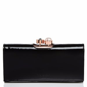 Ted Baker Cecilie Bobble Patent Matinee Wallet | Bloomingdale's