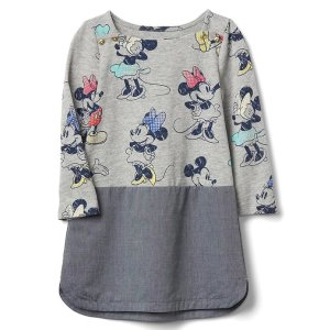 babyGap | Disney Baby Minnie Mouse chambray dress