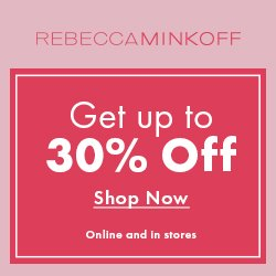 Spend & Save Event!Up To 30% OffSitewide @ Rebecca Minkoff