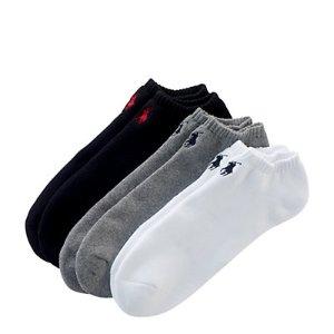 Low-Profile-Sock 3-Pack - Sale � Men - RalphLauren.com