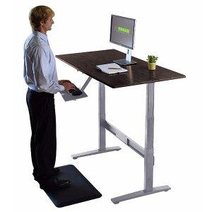 手慢无 $119.99Uncaged Ergonomics RISE UP 电动升降电脑桌