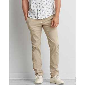 AEO Extreme Flex Slim Chino , Drywall Tan | American Eagle Outfitters