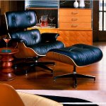 Eames MCL Full Grain Leather Lounge Chair and Ottoman by Herman Miller
