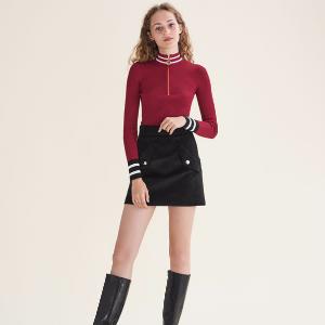 MINAUDIER Fine knit zipped jumper