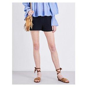 MAJE - Idylle crepe shorts  