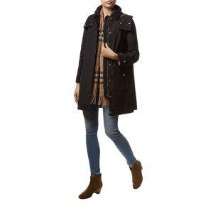 Burberry Hooded Parka Coat