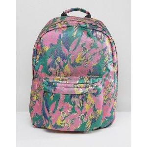 ASOS Bright Brocade Backpack