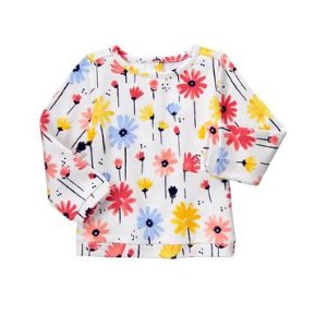 Toddler Girls Wildflower Print Floral Pullover by Gymboree