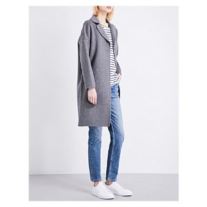 CLAUDIE PIERLOT - Galva wool-blend coat