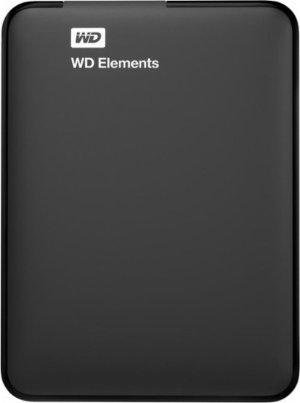 $39.99闪购!西数 1TB Elements 2.5吋便携式USB 3.0 外置硬盘