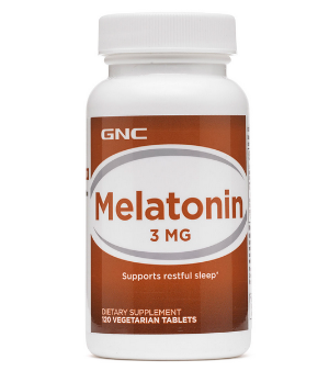 两瓶 仅$7.64GNC Melatonin 助眠褪黑素 3 mg,120粒