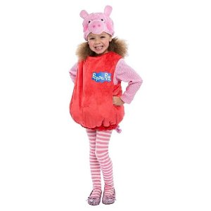 Peppa Pig Deluxe Toddler Costume - (3T-4T) : Target