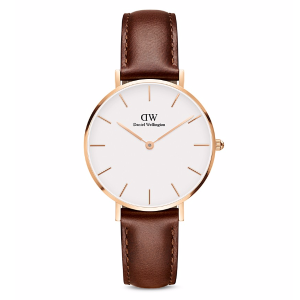 Classic Petite Leather Watch, 32mm