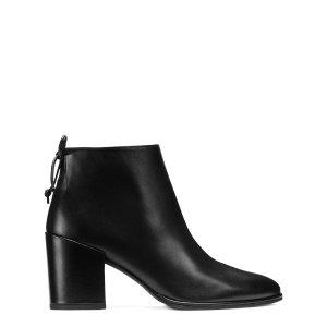 Lofty Block Heel Booties - Shoes | Shop Stuart Weitzman