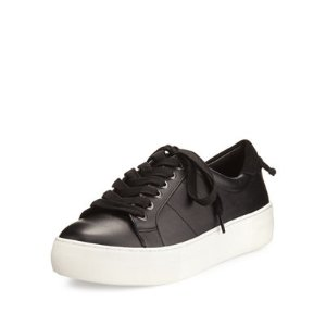 JSlides Asher Leather Lace-Up Sneaker