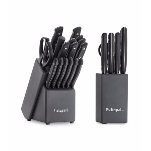 Pfaltzgraff® 17-Pc. Triple Rivet Cutlery Set with 6-pc. Bonus Prep Set | Bon-Ton