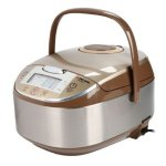 Tatung Micom Fuzzy Logic Multi-Cooker 8 Cups  Rice Cooker, Champagne