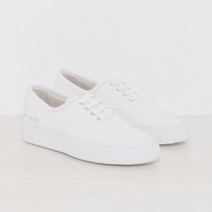 Woman by Common Projects Tournament Four Hole Canvas