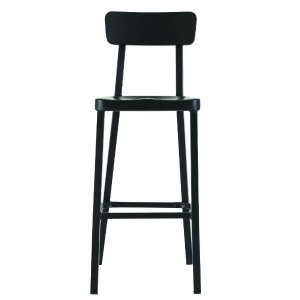 Home Decorators Collection Jacob 30 in. Black Bar Stool-1920900210 - The Home Depot