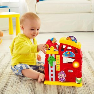 Laugh & Learn Monkey's Smart Stages Firehouse | CGR76 | Fisher-Price