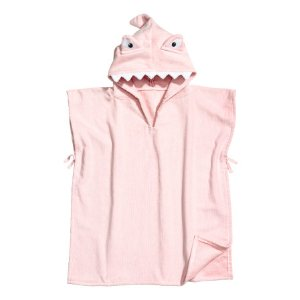 Hooded Towel | Light pink/shark | H&m home | H&M US