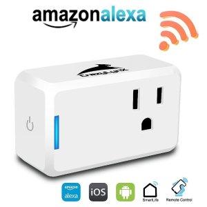 $12.74Wifi Smart Plug - CrazyLynX Mini Smart Socket Outlet Works with Amazon Alexa