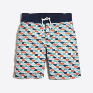 Boys' printed board short : FactoryBoys Board Shorts   Factory