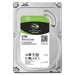 $59.99(原价$76.99)Seagate BarraCuda 希捷酷鱼 2TB 64MB SATA 3.5