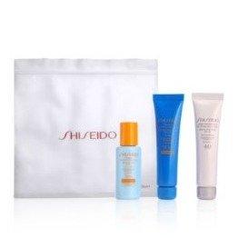 买2件送防晒4件套资生堂Shiseido防晒享多重好礼