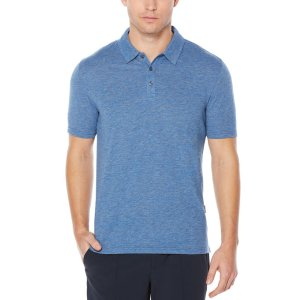 Short Sleeve Tech Slub Polo