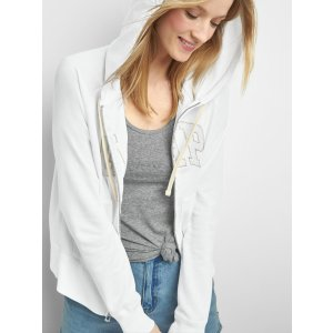 Logo zip hoodie | Gap
