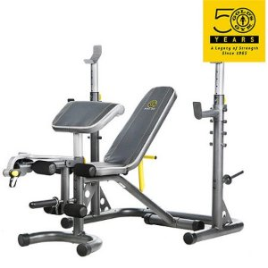 Gold's Gym XRS 20 Olympic Workout Bench and Rack - Walmart.com