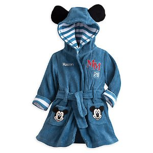 Mickey Mouse Bath Robe for Baby - Personalizable | Disney Store