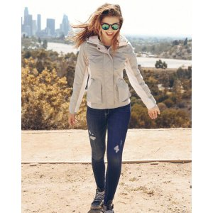 Girls Hollister All-Weather Nylon Jacket | Girls Clearance | HollisterCo.com